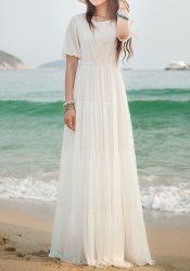 white out maxi beach dress trend 2020 لباس ساحلی