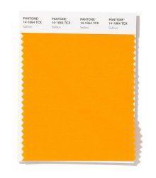 زعفرانی (Pantone 14-1064 Saffron)